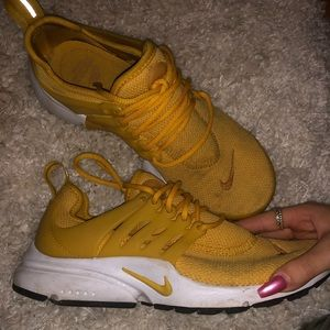 Nike Shoes | Nike Prestos Mustard